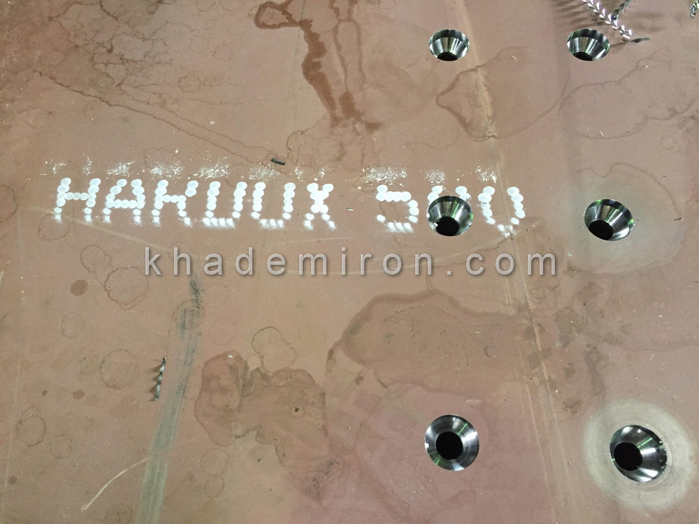 ورق آلیاژی ضد سایش هاردوکس 500